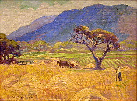 Haying, Carmel Valley