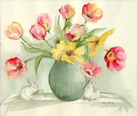 Tulips and Bunnies