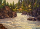 Oregon River Scene
